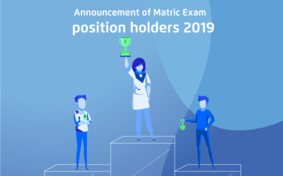 Announcement Of Matric Exam Position Holders 2019