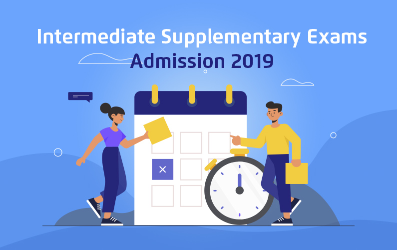 Intermediate Supplementary Exams Admission 2019