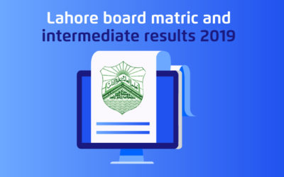 Lahore Board Matric and Intermediate 2019 Results