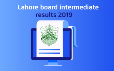 Lahore Board Intermediate Results 2019