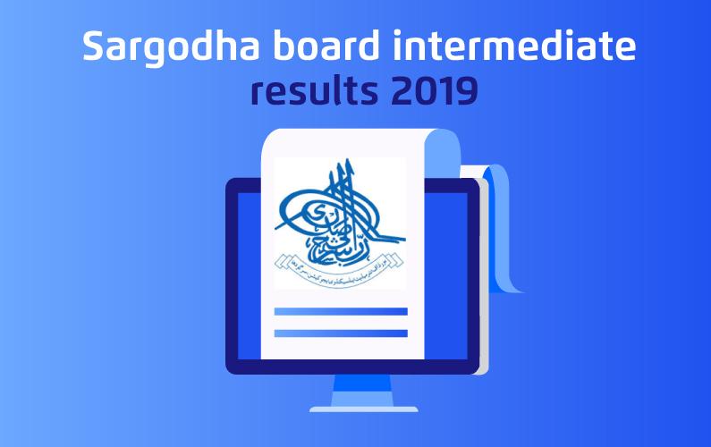Sargodha Board Intermediate Results 2019