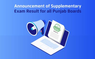 Announcement of Supplementary Exam Result for all Punjab Boards