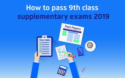 How to Pass 9th Class Supplementary Exams 2019