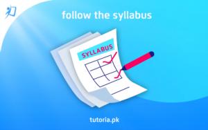 Follow the Syllabus