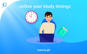 Utilize Your Study Timings
