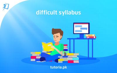 Difficult Syllabus