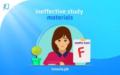 Ineffective Study Materials